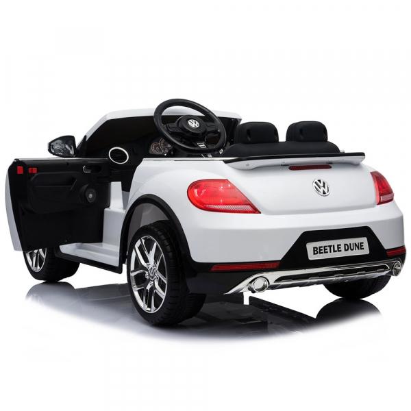 Masinuta electrica Chipolino Volkswagen Beetle Dune white [10]