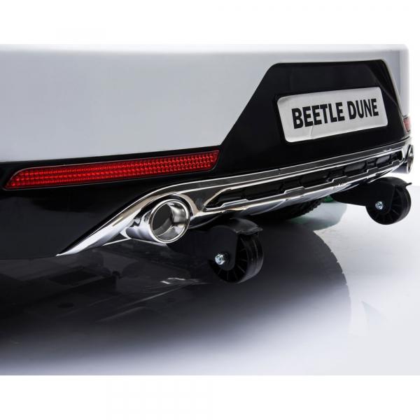 Masinuta electrica Chipolino Volkswagen Beetle Dune white [27]