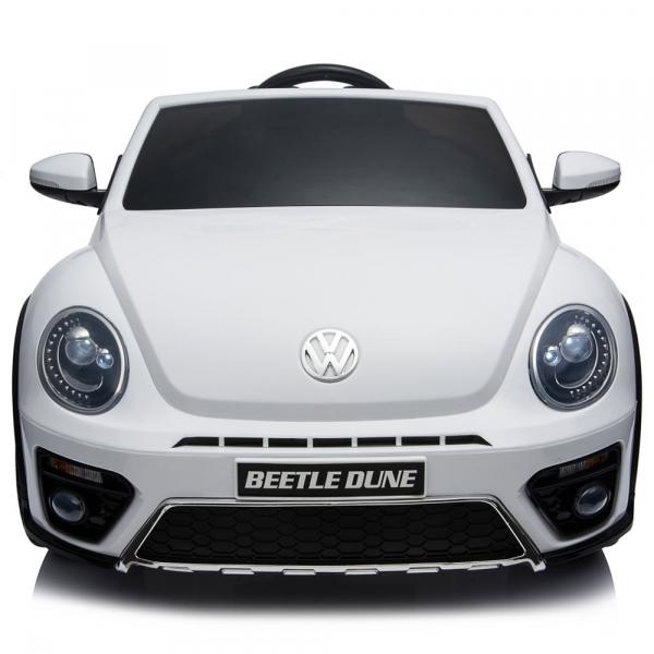 Masinuta electrica Chipolino Volkswagen Beetle Dune white [15]