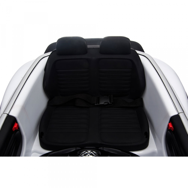 Masinuta electrica Chipolino Volkswagen Beetle Dune white [24]