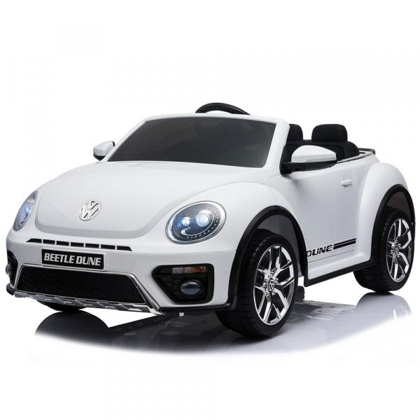 Masinuta electrica Chipolino Volkswagen Beetle Dune white [0]