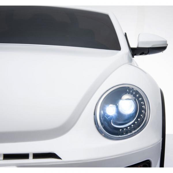 Masinuta electrica Chipolino Volkswagen Beetle Dune white [31]