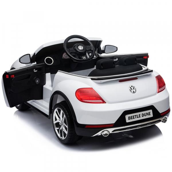 Masinuta electrica Chipolino Volkswagen Beetle Dune white [12]