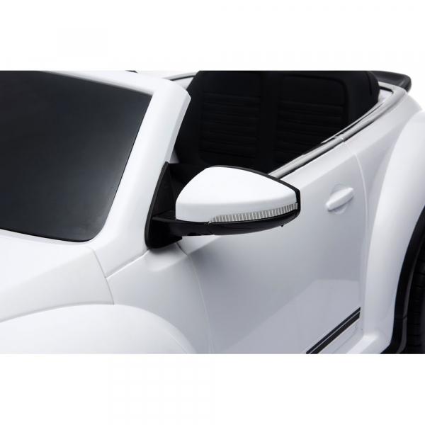 Masinuta electrica Chipolino Volkswagen Beetle Dune white [17]