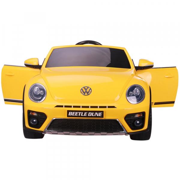 Masinuta electrica Chipolino Volkswagen Beetle Dune yellow 1
