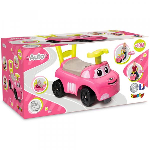 Masinuta Smoby Auto pink 5