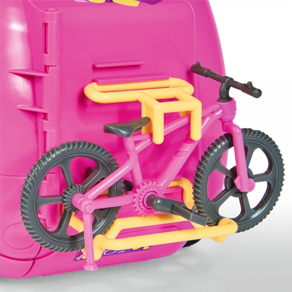 Papusa Simba Evi Love 12 cm Holiday Camper cu rulota si accesorii 4