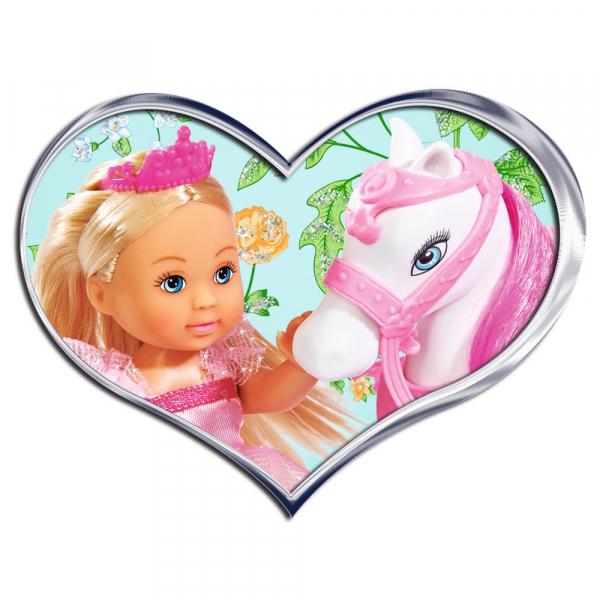 Papusa Simba Evi Love 12 cm Royal Horse cu calut [1]
