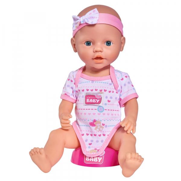 Papusa Simba New Born Baby 38 cm Bebe cu olita si accesorii [3]