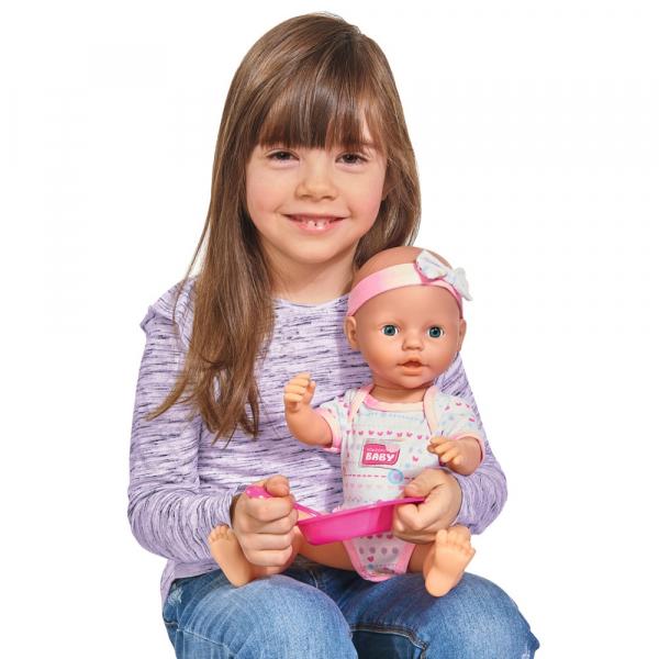 Papusa Simba New Born Baby 38 cm Bebe cu olita si accesorii [5]