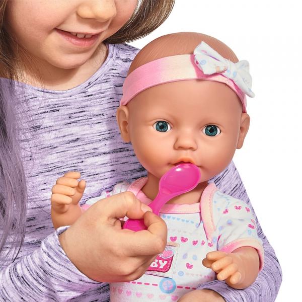 Papusa Simba New Born Baby 38 cm Bebe cu olita si accesorii [7]