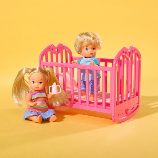 Papusa Simba Steffi Love 29 cm Baby World cu 2 copii, 1 bebelus si accesorii 3