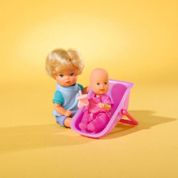 Papusa Simba Steffi Love 29 cm Baby World cu 2 copii, 1 bebelus si accesorii 6