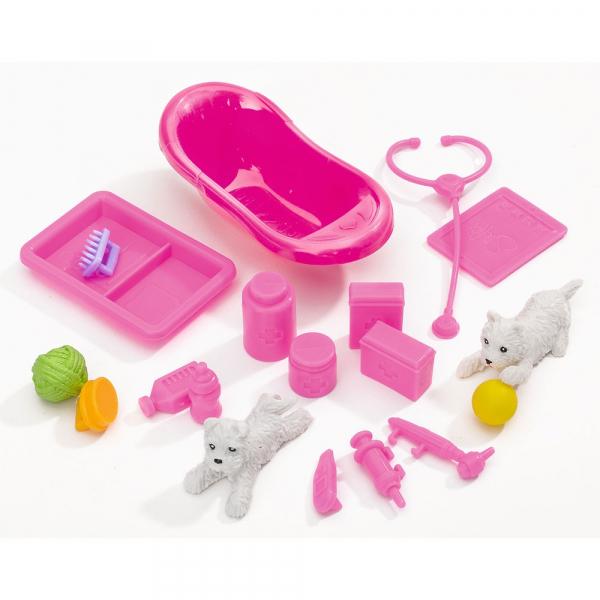 Papusa Simba Steffi Love Animal Doctor 29 cm cu accesorii 6