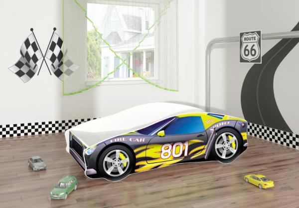 Pat Tineret Race Car 06 Black-140x70 0