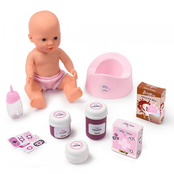Patut Co-Sleeper pentru papusi Smoby Baby Nurse 2 in 1 2