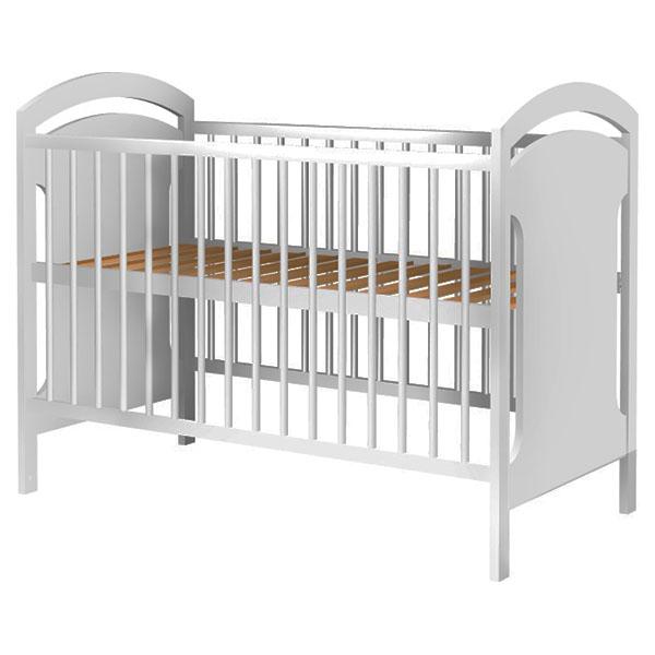 Patut copii din lemn Hubners Anita 120x60 cm alb [0]