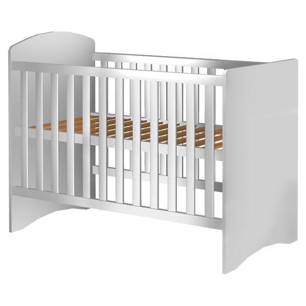 Patut copii din lemn Hubners Anne 120x60 cm alb [0]