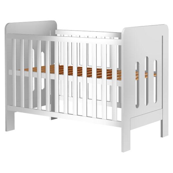 Patut copii din lemn Hubners Sophie 120x60 cm alb [0]