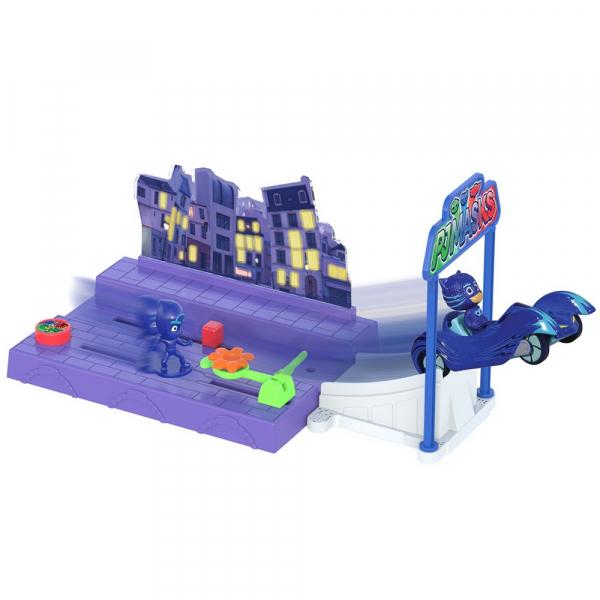 Pista de masini Dickie Toys Eroi in Pijama Night Mission 0