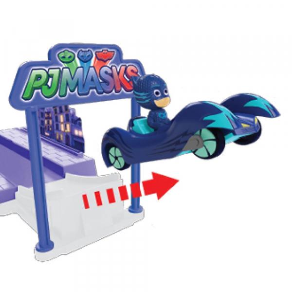Pista de masini Dickie Toys Eroi in Pijama Night Mission 3