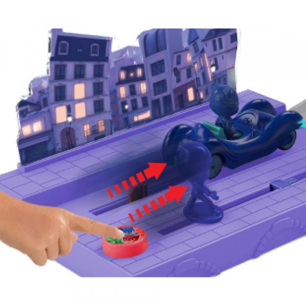 Pista de masini Dickie Toys Eroi in Pijama Night Mission 1