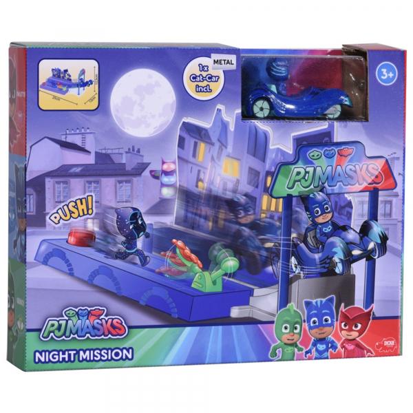 Pista de masini Dickie Toys Eroi in Pijama Night Mission 5