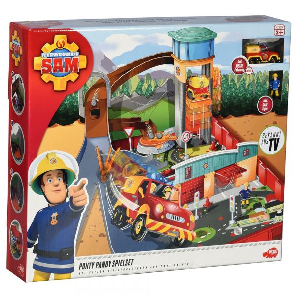 Pista de masini Dickie Toys Fireman Sam Ponty Pandy 4