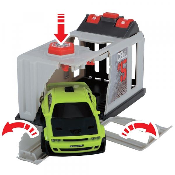 Pista de masini Dickie Toys Prison Break cu 2 masini 5