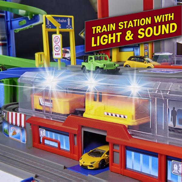 Pista de masini Majorette Super City Garage 16