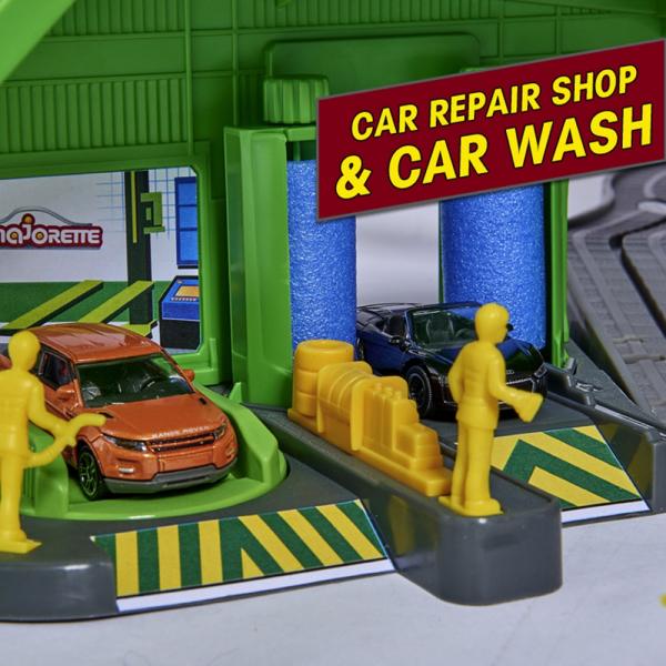 Pista de masini Majorette Super City Garage 2