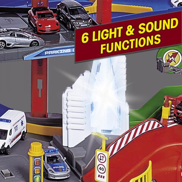 Pista de masini Majorette Super City Garage 10