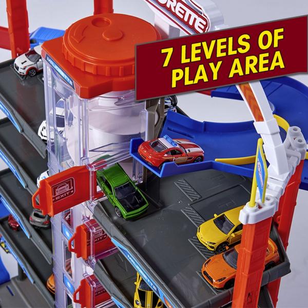 Pista de masini Majorette Super City Garage 12