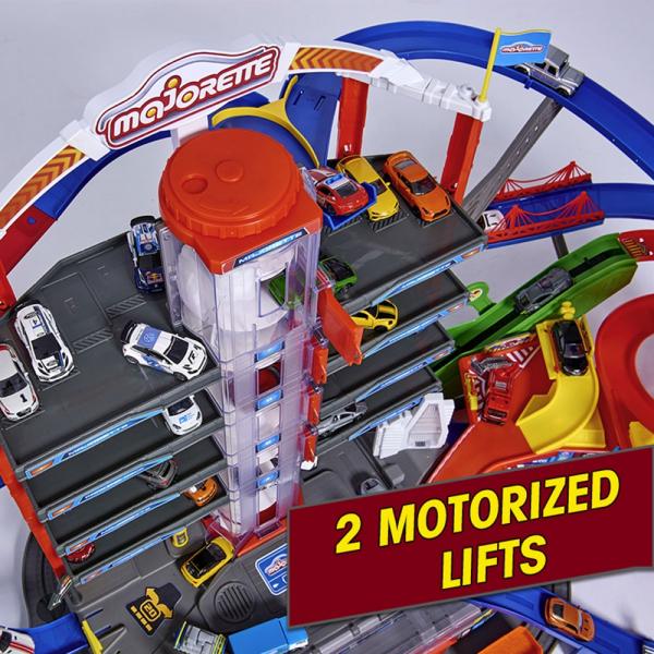 Pista de masini Majorette Super City Garage 9