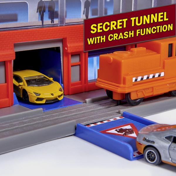 Pista de masini Majorette Super City Garage 14