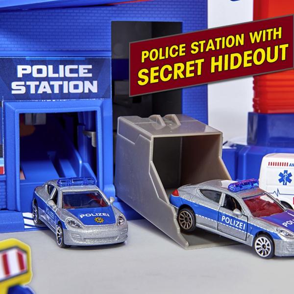 Pista de masini Majorette Super City Garage 6