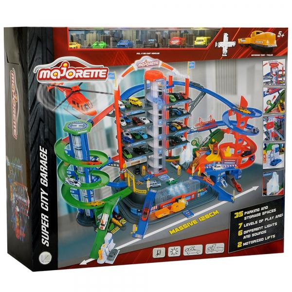 Pista de masini Majorette Super City Garage 25