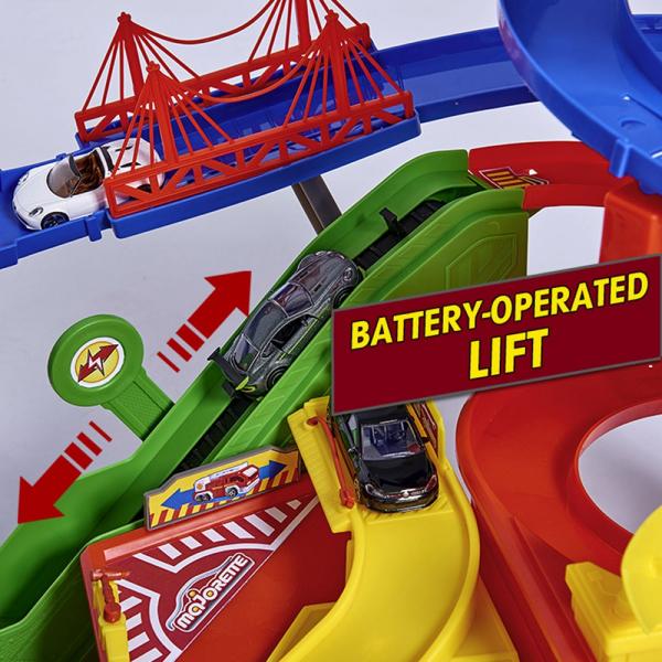 Pista de masini Majorette Super City Garage 7