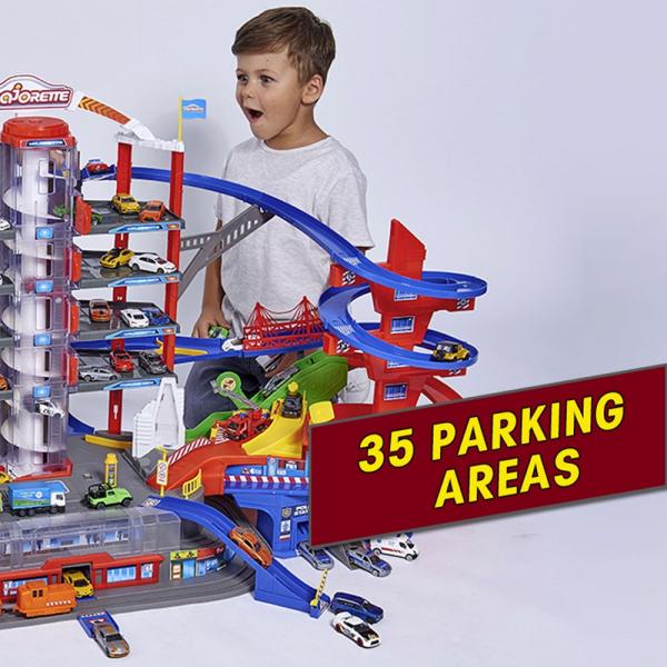 Pista de masini Majorette Super City Garage 11