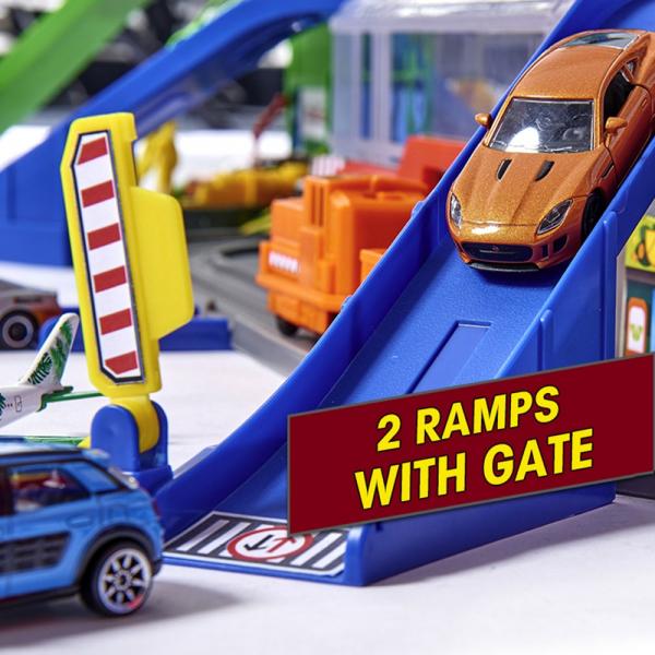 Pista de masini Majorette Super City Garage 13