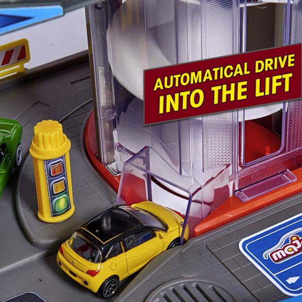 Pista de masini Majorette Super City Garage 8