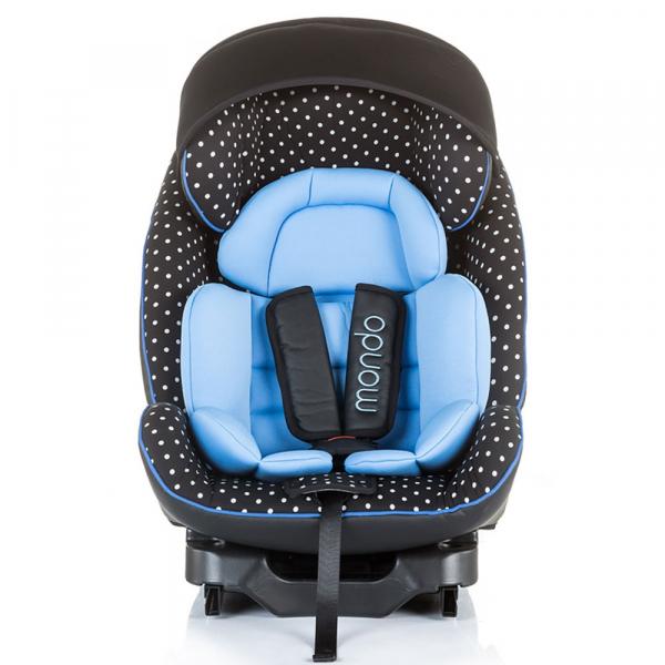 Scaun auto Chipolino Mondo 0-25 kg sky blue cu sistem Isofix 1