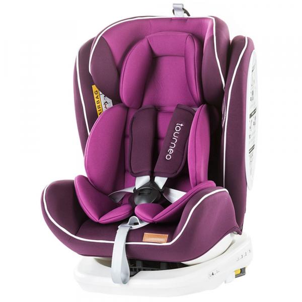 Scaun auto Chipolino Tourneo 0-36 kg purple cu sistem Isofix [0]