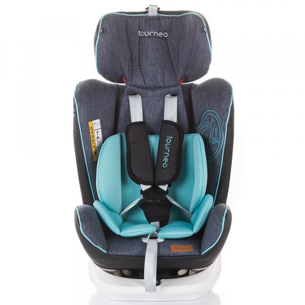 Scaun auto Chipolino Tourneo 0-36 kg sky blue cu sistem Isofix [2]