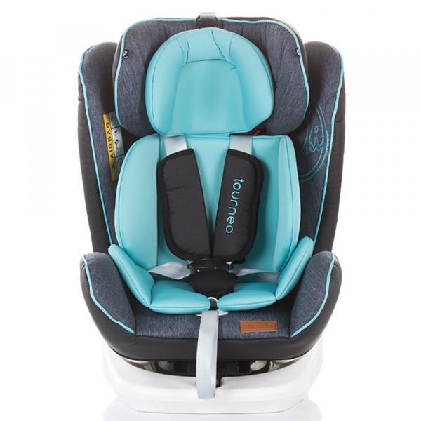 Scaun auto Chipolino Tourneo 0-36 kg sky blue cu sistem Isofix [1]