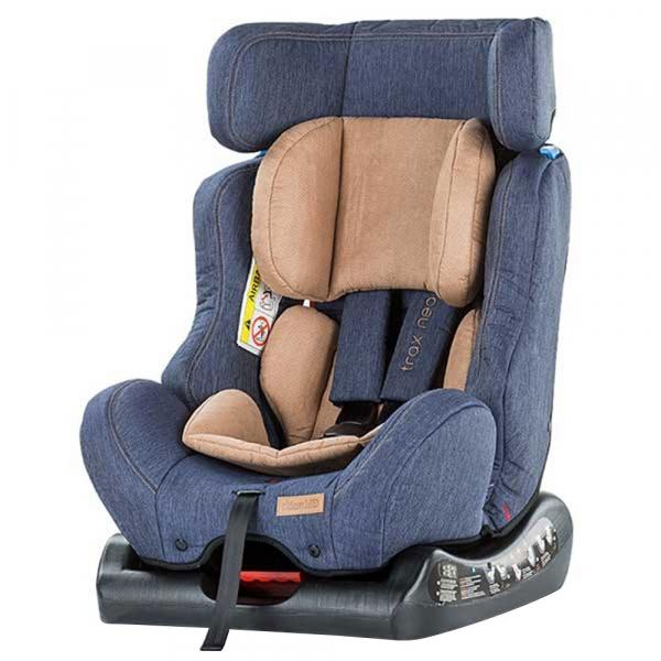 Scaun auto Chipolino Trax Neo 0-25 kg blue jeans [4]