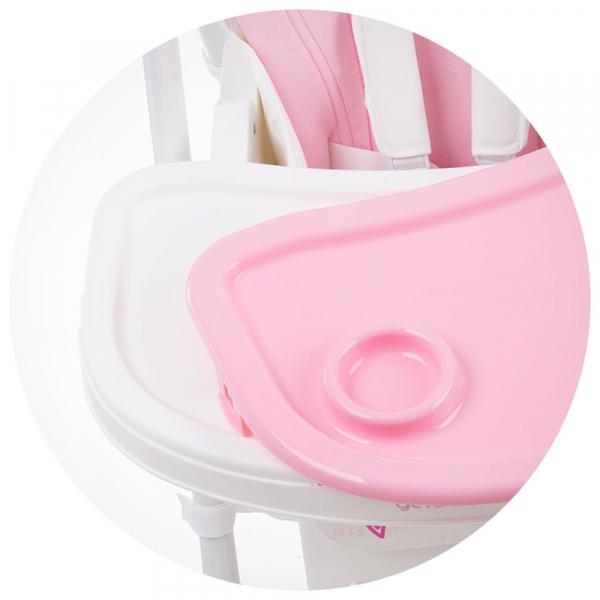 Scaun de masa Chipolino Gelato rose pink 5