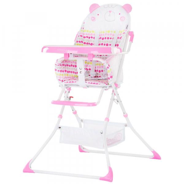 Scaun de masa Chipolino Maggy pink bear 0
