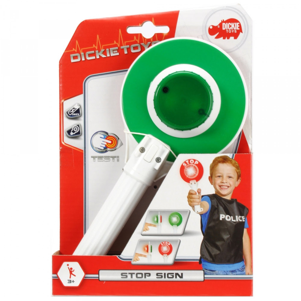 Semn rutier Dickie Toys Stop Politie 2