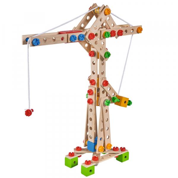 Set constructie din lemn Eichhorn Crane 170 piese 0